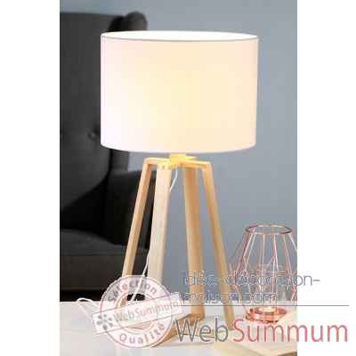 "Lampe de table ""static"" Casablanca Design -39256"