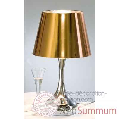 "Lampe de talble ""drop"" Casablanca Design -39248"