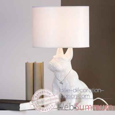 "Lampe ""doggy"" Casablanca Design -96848"