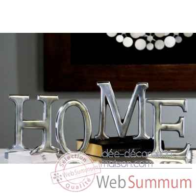 "Lettres ""home"" Casablanca Design -32776"