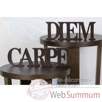 "Mots ecrits ""carpe diem"" Casablanca Design -51371"