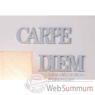 "Mots ecrits ""carpe diem"" Casablanca Design -51593"