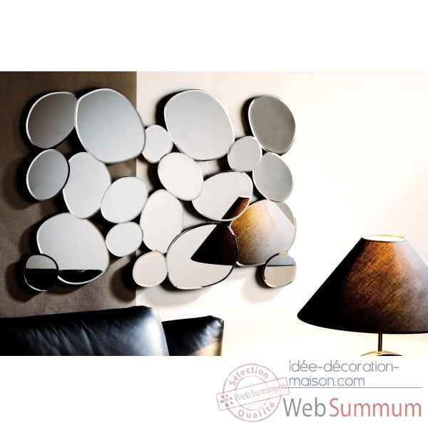 "Miroir ""pepple\"" Casablanca Design -77756"