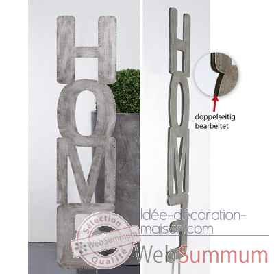 "Pique decoratif pour le jardin ""home"" Casablanca Design -74033"