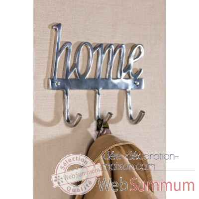 "Portemanteau ""home"" Casablanca Design -32874"
