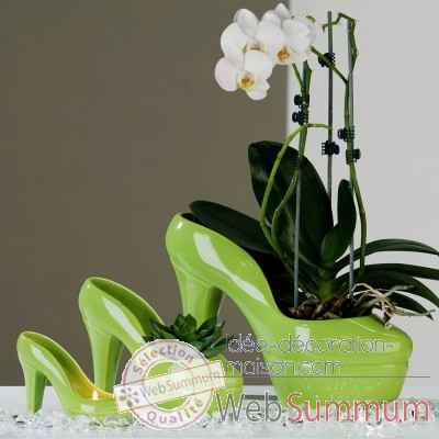 "Pot a fleur ""pumps"" Casablanca Design -26618"