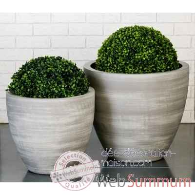 "Pot a fleur ""smooth"" Casablanca Design -26837"