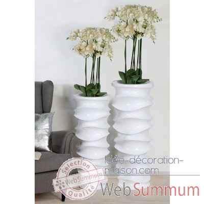 "Pot a fleurs ""move"" Casablanca Design -79215"