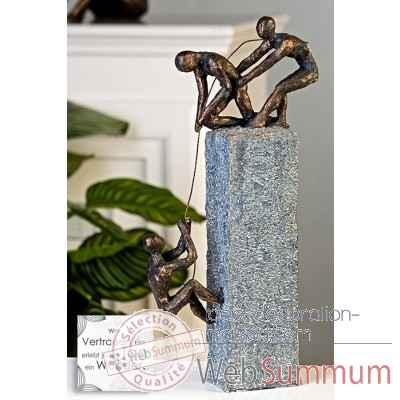 "Sculpture ""assitance"" Casablanca Design -59774"