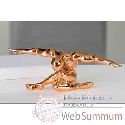 "Sculpture ""cliffhanger"" Casablanca Design -79096"