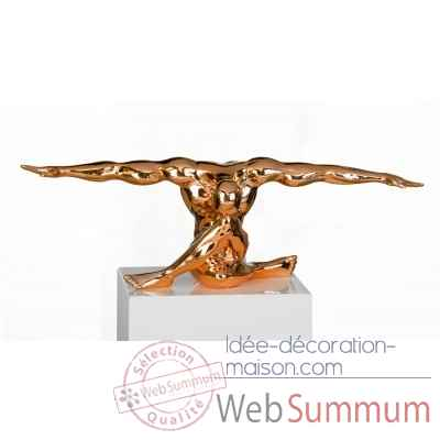 "Sculpture ""cliffhanger"" Casablanca Design -79097"
