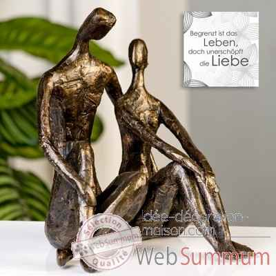 "Sculpture ""date"" Casablanca Design -59773"