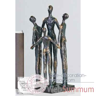 "Sculpture ""group"" Casablanca Design -59901"