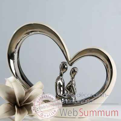"Sculpture ""kissing\"" Casablanca Design -36148"