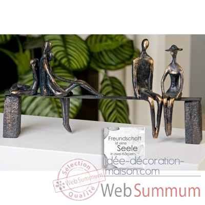 "Sculpture ""leisure"" Casablanca Design -59772"