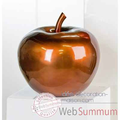 "Sculpture ""pomme"" Casablanca Design -79104"