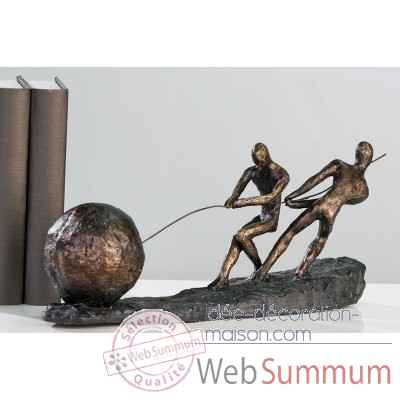 "Sculpture ""pull"" Casablanca Design -59829"