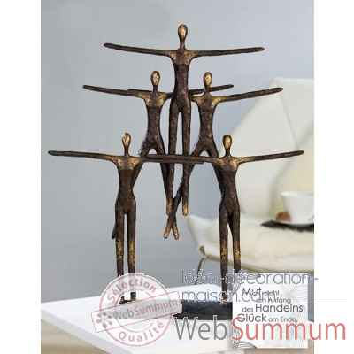 "Sculpture ""pyramide"" Casablanca Design -59957"