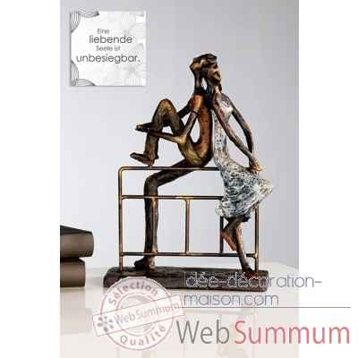 "Sculpture ""reflection"" Casablanca Design -59775"