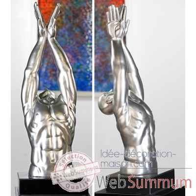 "Sculpture ""swimmer"" Casablanca Design -59996"