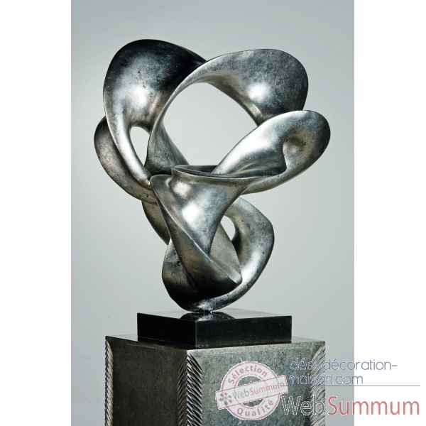 "Sculpture ""verde\"" Casablanca Design -32565"