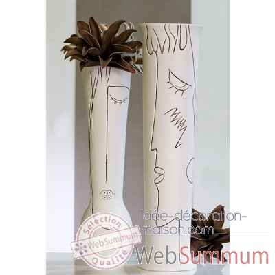 "Vase ""art"" Casablanca Design -26156"