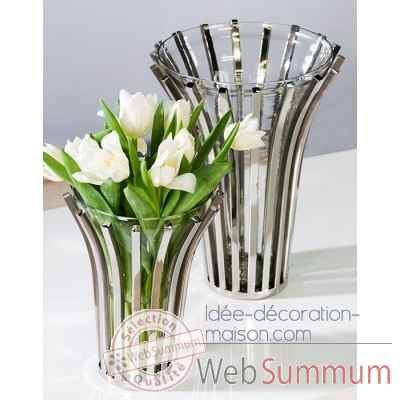 "Vase ""atlanta\"" Casablanca Design -33078"