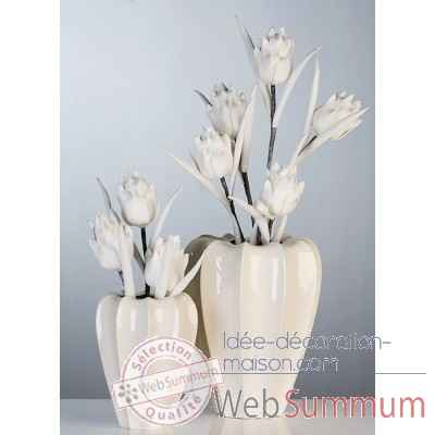 "Vase ""calida"" Casablanca Design -26925"
