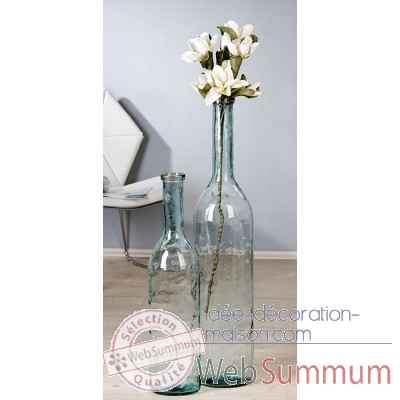 "Vase ""clear"" Casablanca Design -87387"