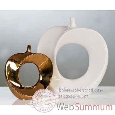 vase pomme casablanca design dans objets de d coration. Black Bedroom Furniture Sets. Home Design Ideas