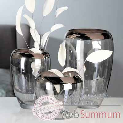 "Vase ""smooth"" Casablanca Design -87432"
