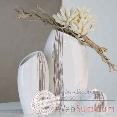 "Vase ""stripes"" Casablanca Design -26811"