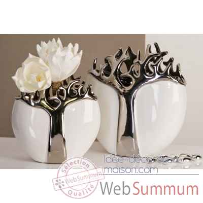 "Vase ""tree"" Casablanca Design -26183"