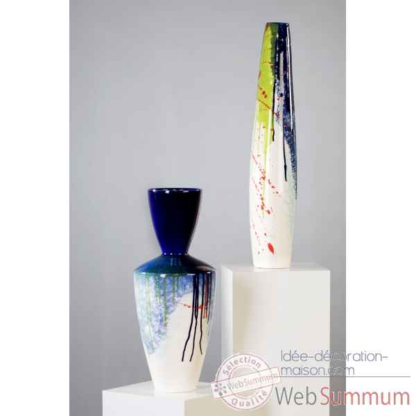 "Vase ""colours\"" colore vitre Casablanca Design -96555"