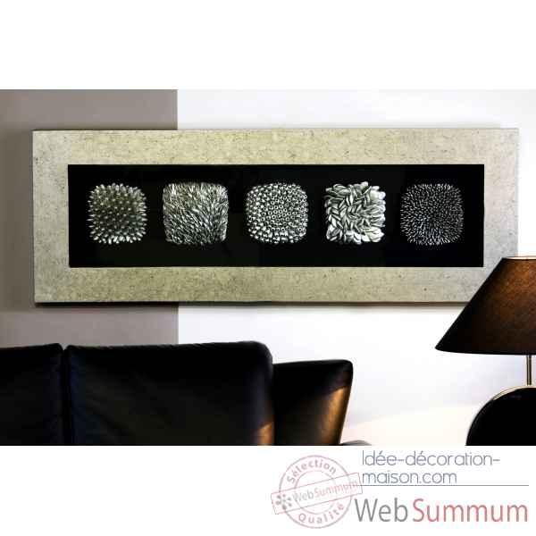 Peinture murale dots bois verre m tal casablanca design for Peinture bois metal