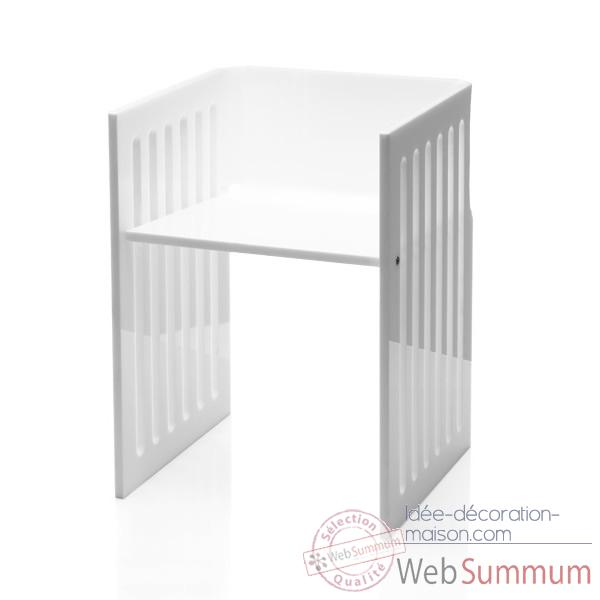 Chaises contemporaine dans mobilier design acrila sur id e for Chaise contemporaine blanche