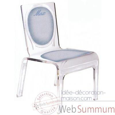 Chaise personnalisable Baby Lines Rose Aitali