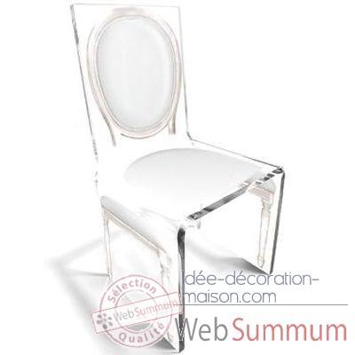 chaise aqua l16 original blanc aitali de aitali de. Black Bedroom Furniture Sets. Home Design Ideas