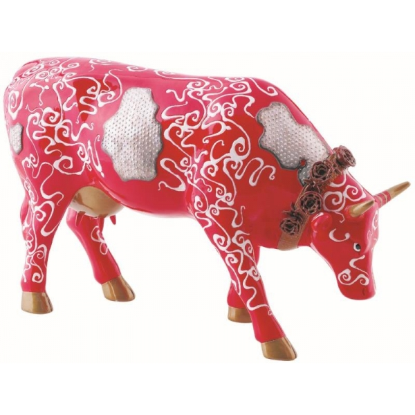 Cow parade -lima 2009, artiste victo rafael alama rocha - the wrought iron cow-46493