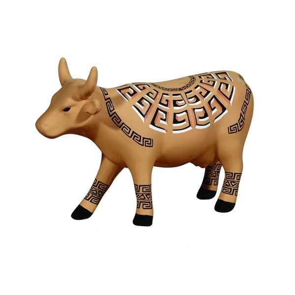 Figurine vache medium marajoara CowParade -MC47464