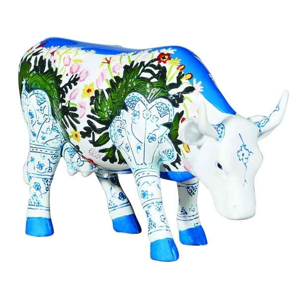 Figurine vache cowparade muuselmalet resine medium mm-47754