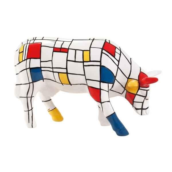 Vache cowparade céramique moondrian mmc47410 de Décoration animaux