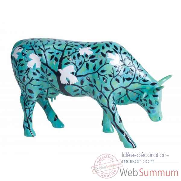 Vache cowparade dream of birds l46765