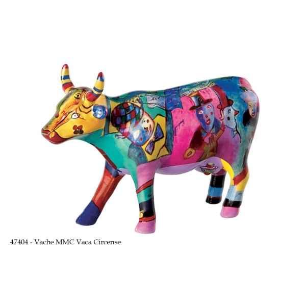 Statuette vache CowParade montre ses vaches sur Idée