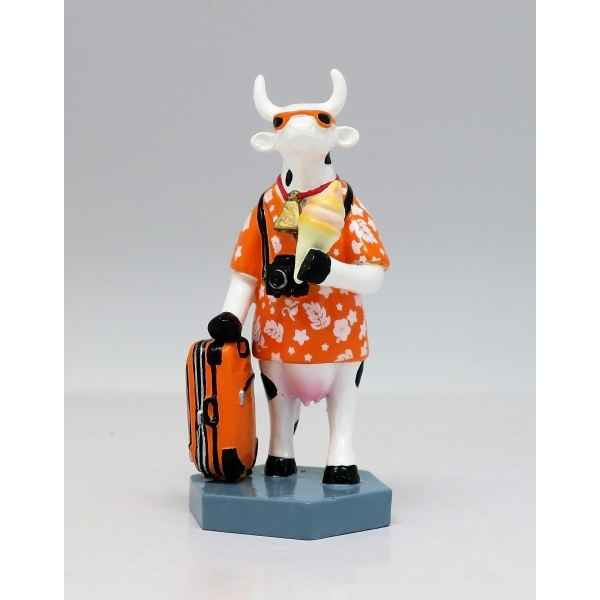 Vache vacation small cows resine CowParade -46650