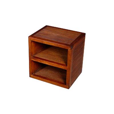 cube avec 1 tablette stri meuble d 39 indon sie 53957 dans. Black Bedroom Furniture Sets. Home Design Ideas