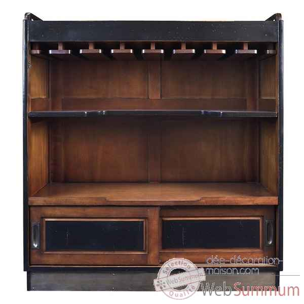image et photo de bar casablanca noir mf047b sur id e d coration maison. Black Bedroom Furniture Sets. Home Design Ideas