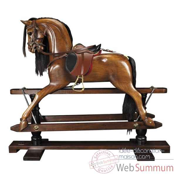 Cheval a bascule vistorien Decoration Marine AMF -RH006