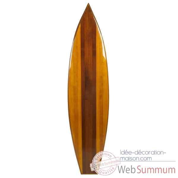 Planche de surf decorative en bois design d 39 int rieur et for Planche en bois noir