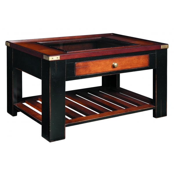 Table basse Collector, Noir -MF058